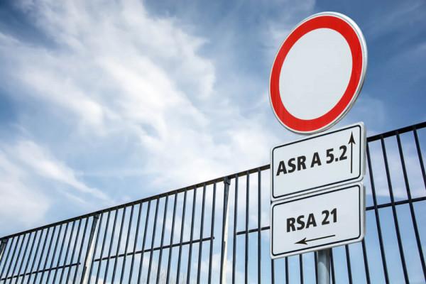 Die NEUE Rechtslage zwischen ASR A 5.2 und RSA 95: Konflikte und Lösungsansätze (alle Straßen)