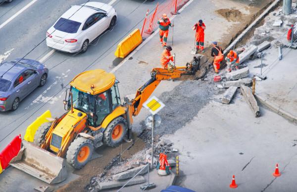 Sicherheits- und Präventionstraining für Baustellenpersonal im öffentlichen Verkehrsraum