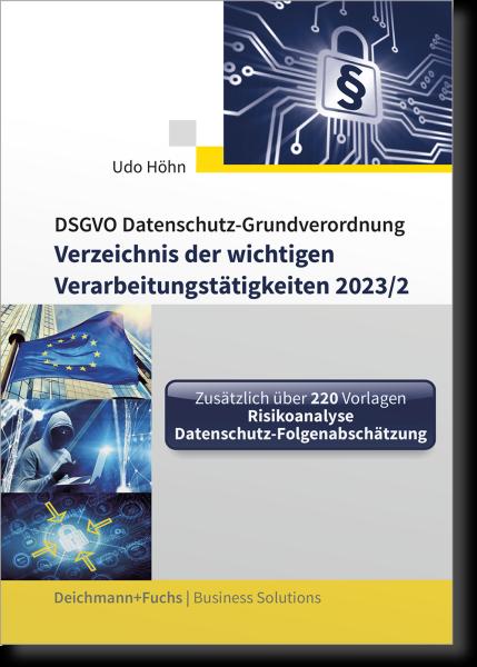 CD-ROM DSGVO-Verzeichnis der wichtigen Verarbeitungstätigkeiten 2021