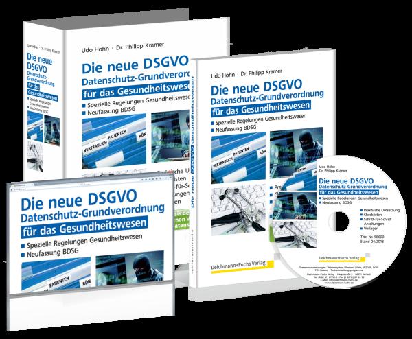 CD-ROM Die neue DSGVO für das Gesundheitswesen