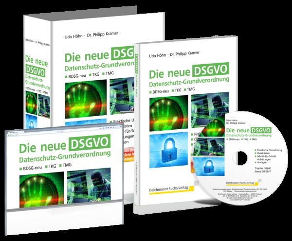 CD-ROM Die neue DSGVO